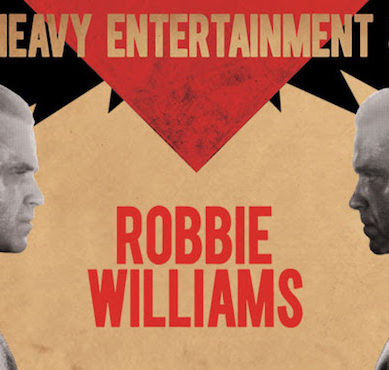 ROBBIE WILLIAMS HEAVY ENTERTAINMENT SHOW – MELBOURNE 24/02/18