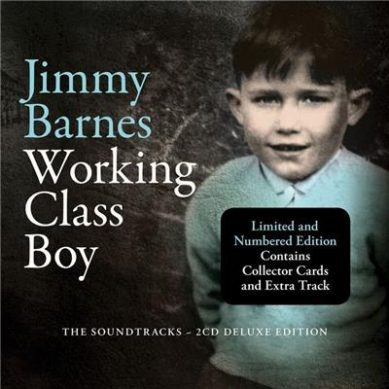 JIMMY BARNES PREPARES WORKING CLASS BOY SOUNDTRACK