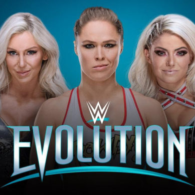 WWE EVOLUTION – FIRST-EVER ALL-WOMEN'S PAY-PER-VIEW –