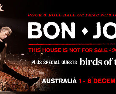 BON JOVI- THIS HOUSE IS NOT FOR SALE – MCG MELBOURNE
